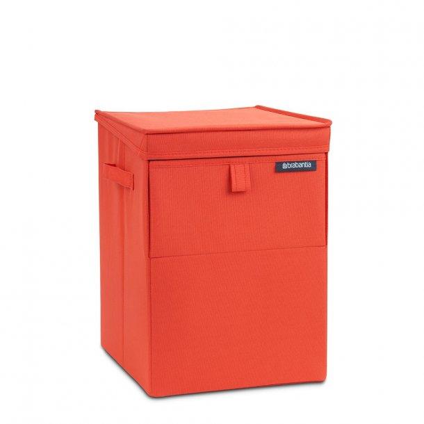 Brabantia Vasketøjskurv Stabelbar Rektangulær 35 Liter - Rød