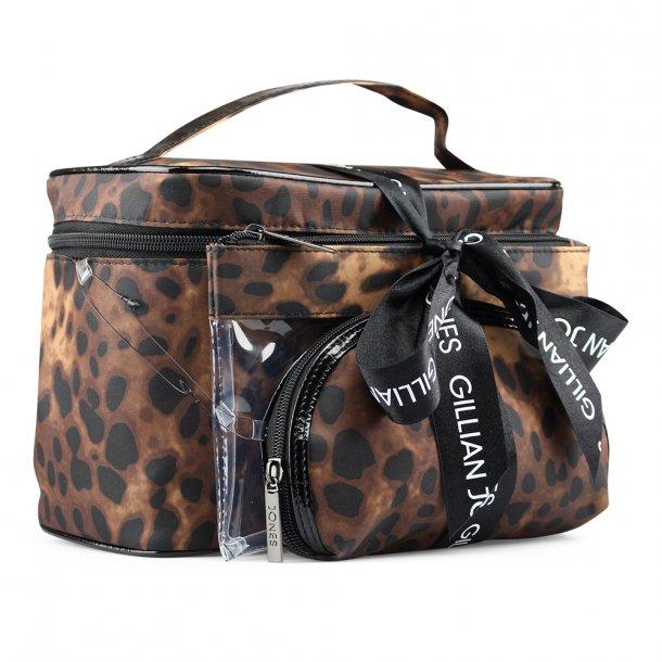 Gillian Jones Leopard Sæt Med 3 Tasker