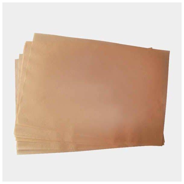 De Buyer Set 250 Sheets Of Braun Bakingpaper Non Stick Double Side Gn1/1