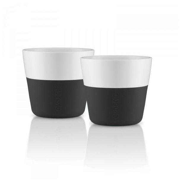 Eva Solo Espresso-krus, 2 stk Carbon black 80 ml