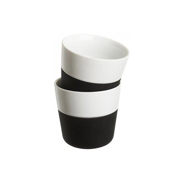 Eva Solo Lungo-krus, 2 stk Carbon black 230 ml