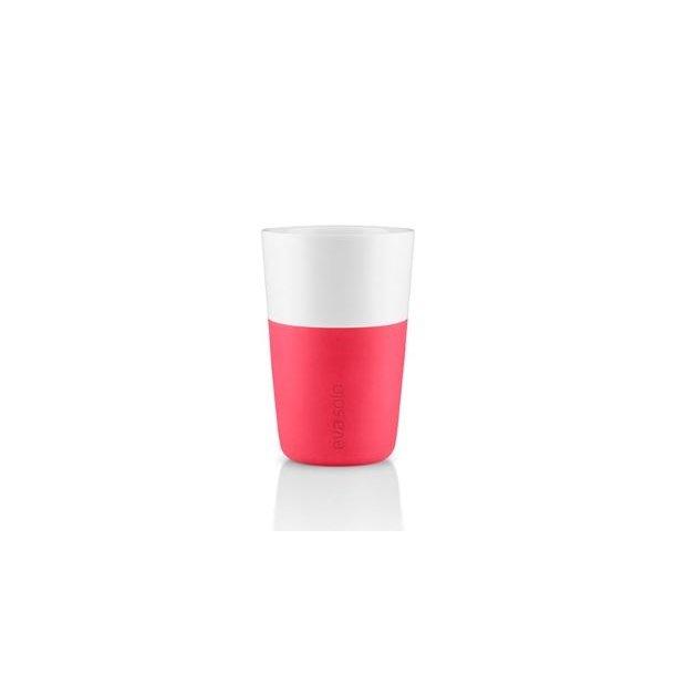 Eva Solo Cafe Latte-krus, 2 stk Flashy pink 360 ml