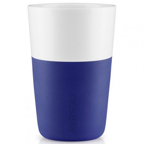 Eva Solo Cafe Latte-krus, 2 stk Electric blue 360 ml