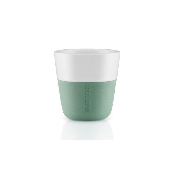 Eva Solo Espresso-krus, 2 stk Granite green