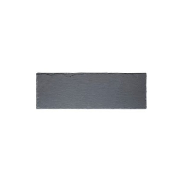 Galzone Skifertallerken 30 x 10 cm - Sort