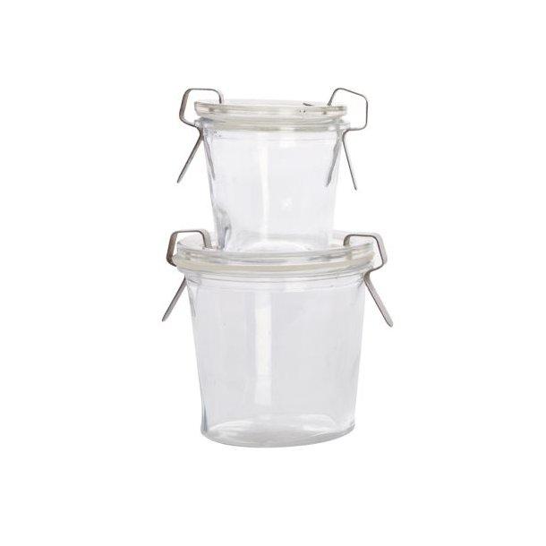 House Doctor Sylte/marmelade glas - mellem