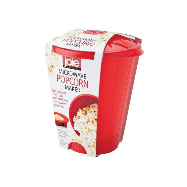 Jo!e Popcorn Maker Til Mikroovn - Rød