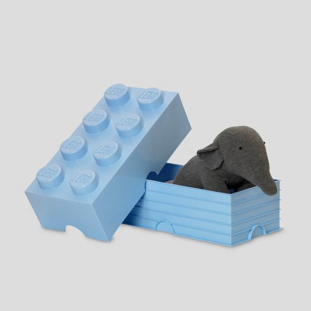 LEGO Opbevaringsklods 8 - Lys Blå