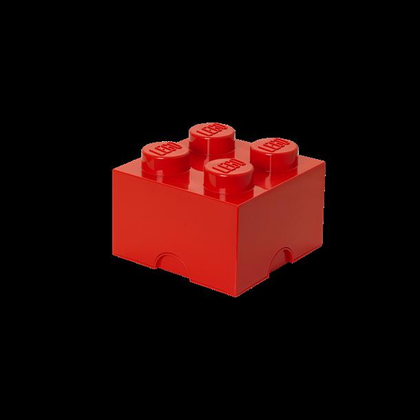 LEGO Opbevaringsklods 4 - Rød