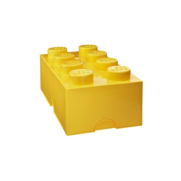 LEGO Opbevaringsklods 8 - Gul