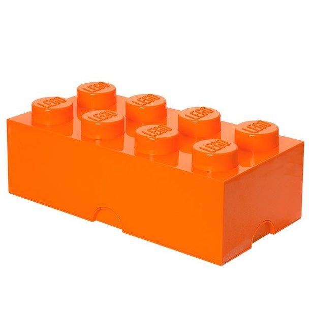 LEGO Opbevaringsklods 8 - Orange