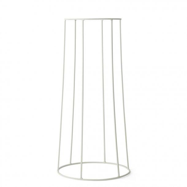 Menu Potteholder Wire base LARGE - White