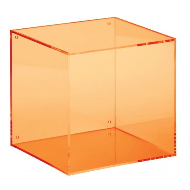 Neon Living Wall Box Square - orange