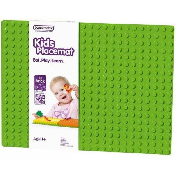 Placematix Børne Dækkeserviet - Grøn