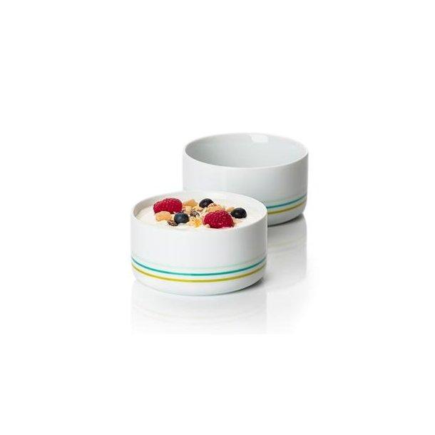 Zone Serveringsskåle porcelæn Lime - 2 Stk*