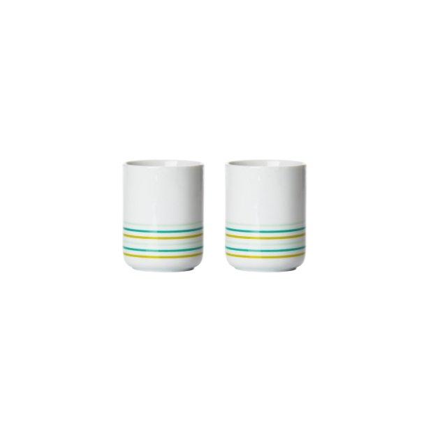 Zone Termokrus porcelæn Lime - 2 Stk.*
