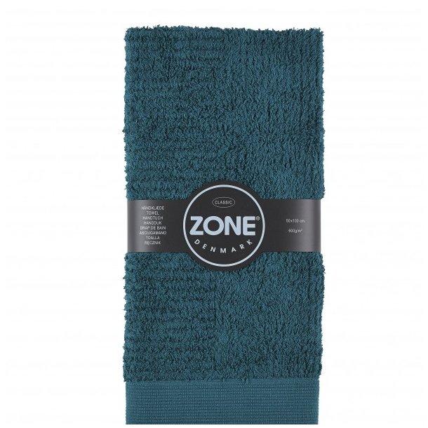 Zone Mørkegrøn Håndklæde