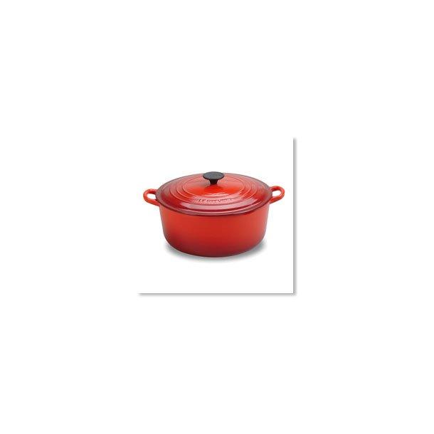 Le Creuset Gryde Rød 3,3 liter Rund 22 cm