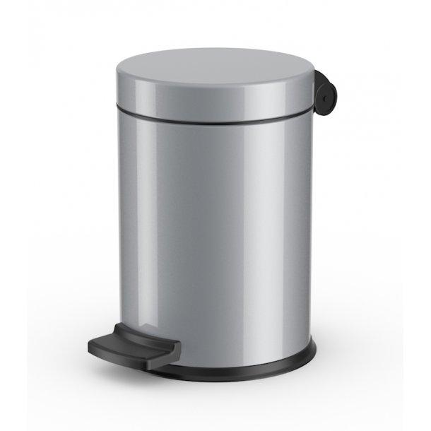 Hailo affaldsspand ProfiLine Solid, silver - 4 Liter