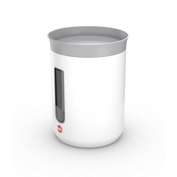 Hailo opbevaringsbeholder 1,3 l - mat hvid