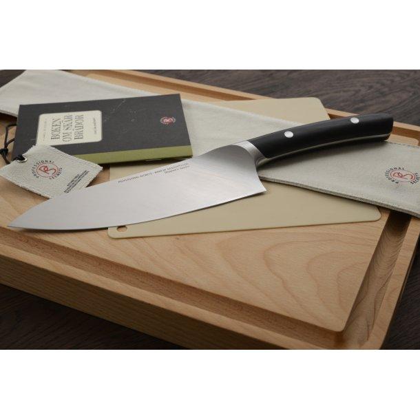 Professional Secrets Skærebræt Med Saftrille i bøg, 42x30x2,4 cm