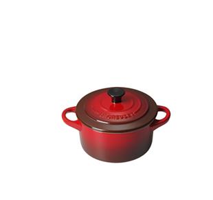 Køb Le Creuset Rød Mini Stentøjsgryde - 10 cm - Hurtig levering - Gratis fragt ved 500 kr.