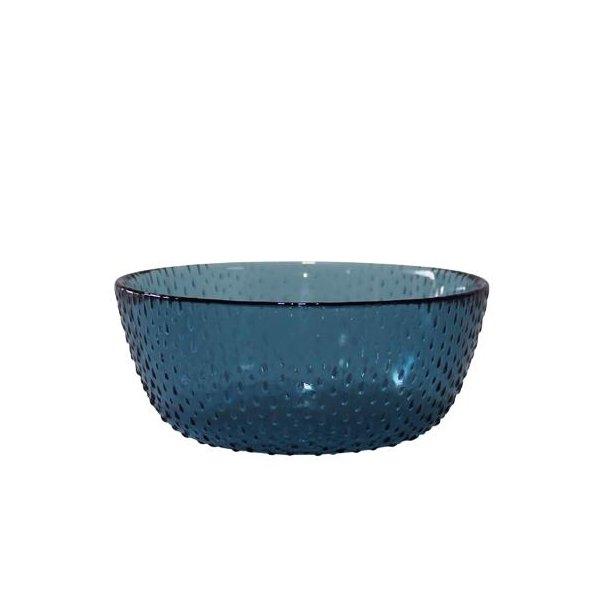 Aida RAW Glas Blå Skål 26,5 Cm.