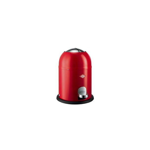 Wesco Single Master Pedal Bin 9 Liter - Red
