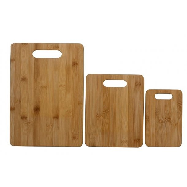 Bamboo Chopping board - set a 3