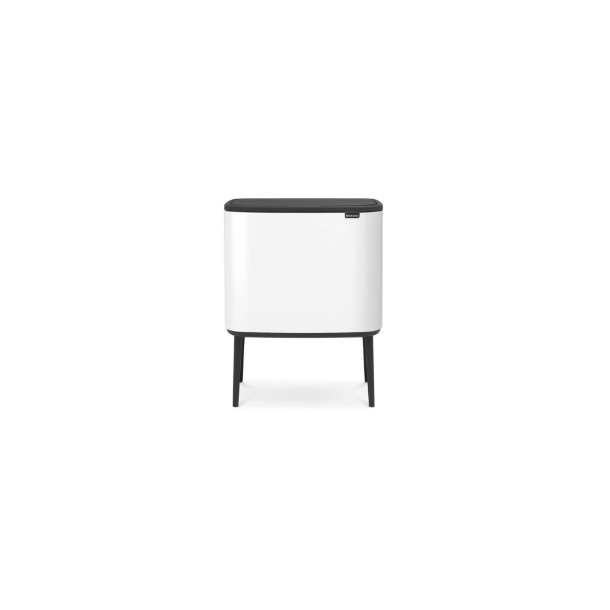 Brabantia BO Touch Bin Affaldsspand, 3 X 11 liter, 3 inderspande - Hvid