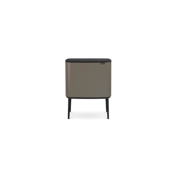 Brabantia BO Touch Bin Affaldsspand, 3 X 11 liter, 3 inderspande - Platinum