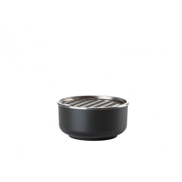 Zone Peili Skål Dia. 16 x 8,8 cm 1 liter Black - Melamin/18/8 stål