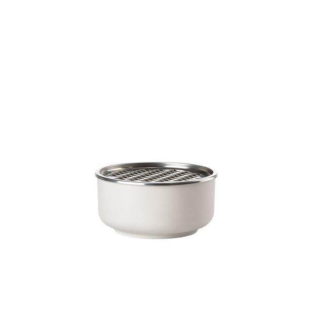 Zone Peili Skål Dia. 16 x 8,8 cm 1 liter Warm grey - Melamin/18/8 stål
