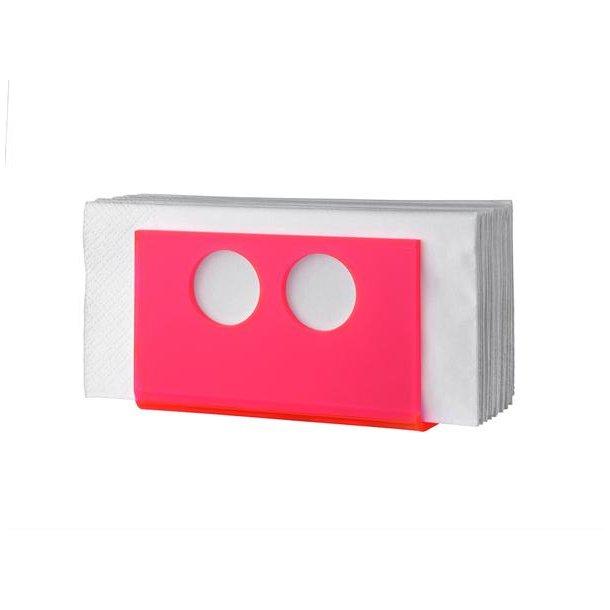 Neon Living Servietholder Napkin U - Pink