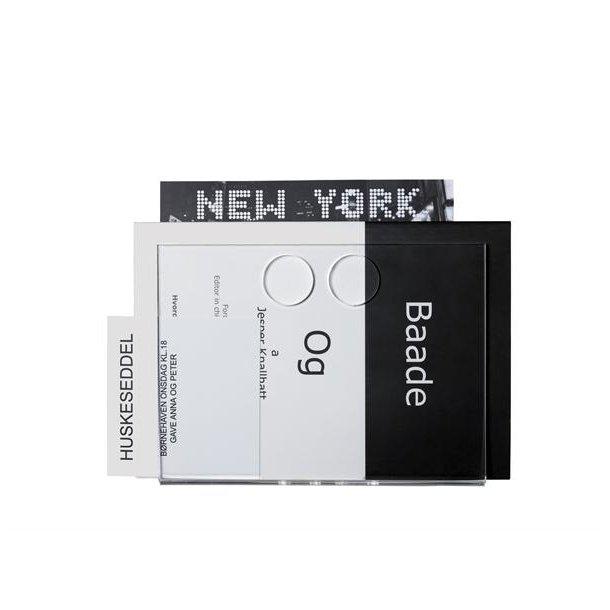 Neon Living Papirholder Paper U - Gennemsigtig