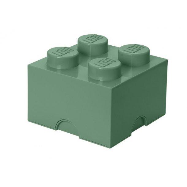 LEGO Storage Block 4 - Sand Green