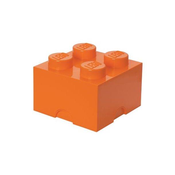 LEGO Storage Block 4 - Orange