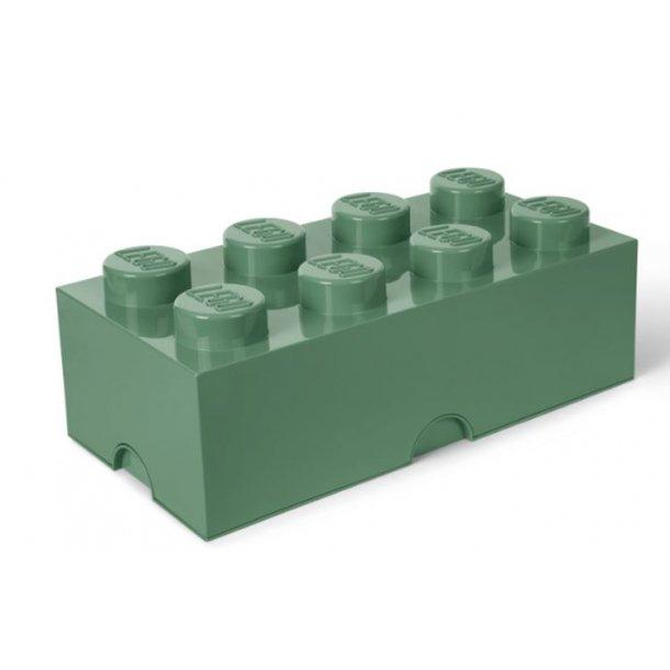 LEGO Opbevaringskasse 8 - Sand Green