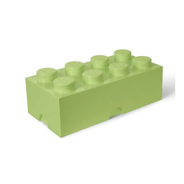 LEGO Opbevaringsklods 8 - Spring Yellowish Green