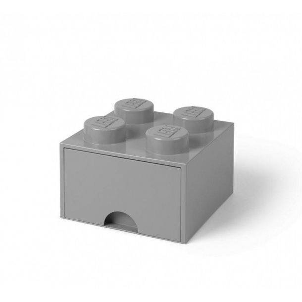 Lego Drawer Storage Box With 1 Drawer 4 Medium Stone Gray