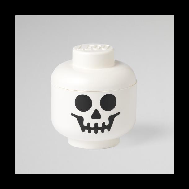 LEGO Opbevaringsboks/ Hoved Skelet - Str. L