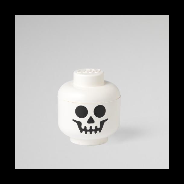 LEGO Opbevaringsboks/ Hoved Skelet - Str. S