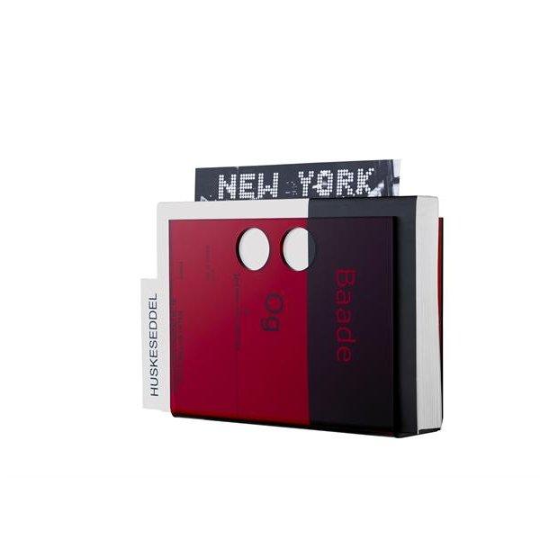Neon Living Papirholder Paper U - Rød