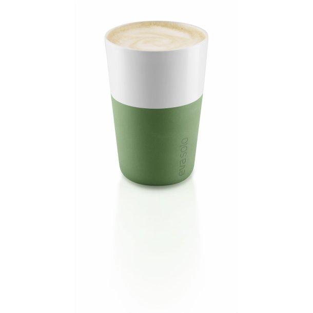 Eva Solo Café Latte krus, 2 stk. 360 ml - Botanic green