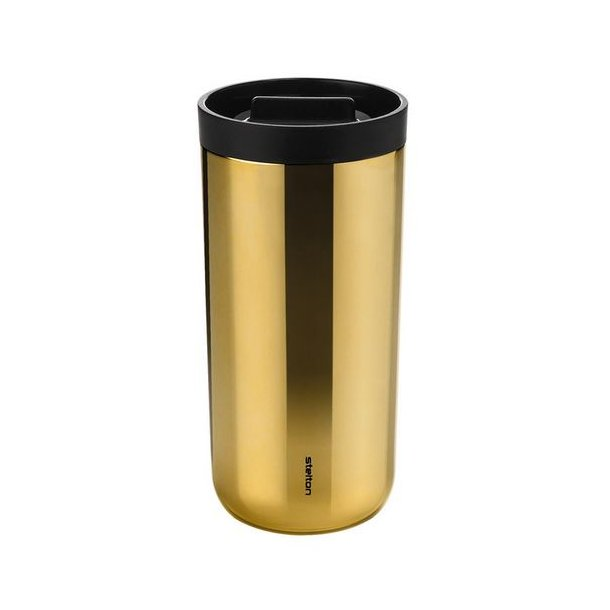 k p stelton to go 2 0 termisk mugg 0 4 liter koppar. Black Bedroom Furniture Sets. Home Design Ideas