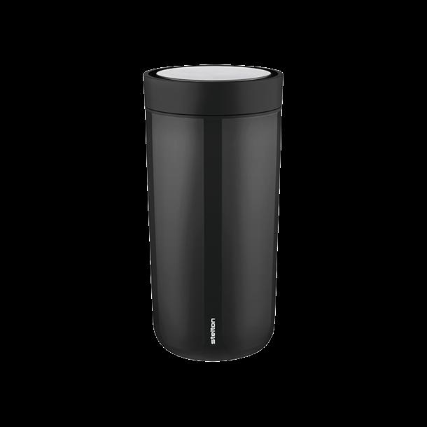 Stelton To Go Click stål kop 0,4L - Sort