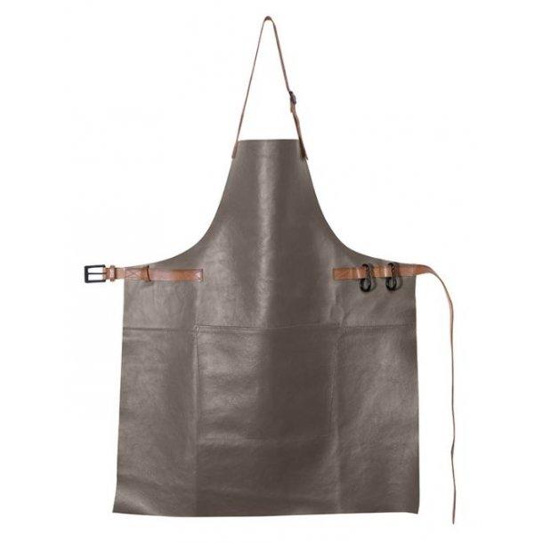 Dutchdeluxes BBQ Style Forklæde 100% Læder Grå