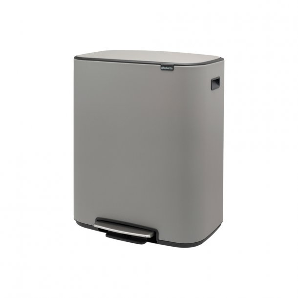 Brabantia Bo pedalspand m/1 inderspand 60 ltr.  - Mineral Concrete Grey