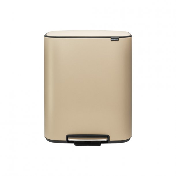 Brabantia Bo pedalspand m/1 inderspand 60 ltr.  - Mineral Golden Beach