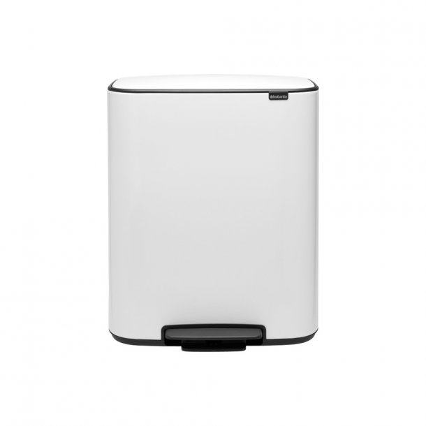 Brabantia Bo pedalspand m/1 inderspand 60 ltr.  - White